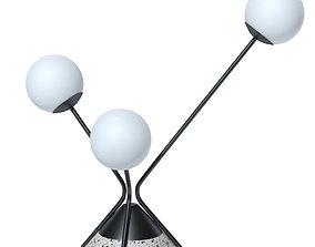 3D model ROCHE BOBOIS Table lamp Flora