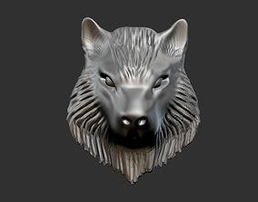 3D printable model Wolf Head