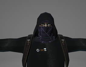 MERCHANT from RE4 3D asset game-ready