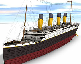 3D model Titanic Studio Max