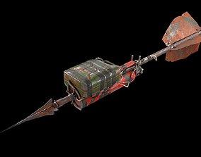 3D asset Artillery spear