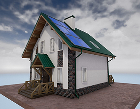 cottage houses 3D willage