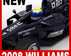 F1 2008 Williams Toyota FW30 3D