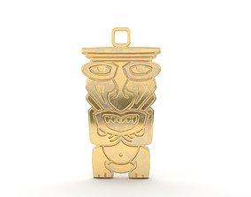 3D printable model Maori pendant jewelry 07