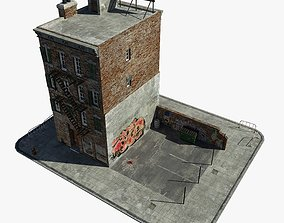 New York Building 3D model low-poly