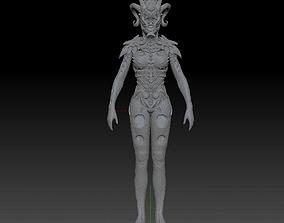 3D print model Hell Queen creature