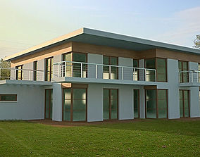 3D model Minimalist Modern House