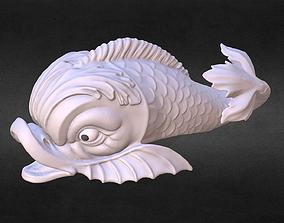 3D printable model Dolphin fish