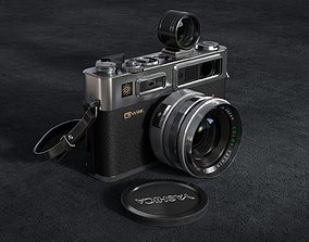 yashica 35 old camera classic camera leica 3D PBR