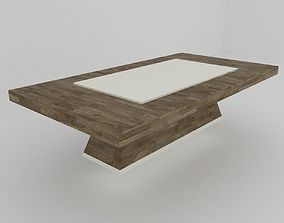 3D model game-ready Modern coffee table -mon-
