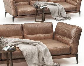 3D model Flexform Adda sofa set