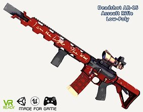 Dead Stroke Gun 3D asset