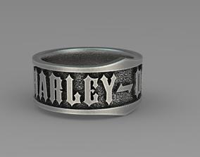 Harley Davinson iconic band 3D printable model