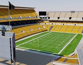 3D model Heinz Field - Pittsburgh