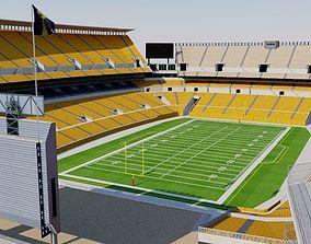 Heinz Field - Pittsburgh 3D model