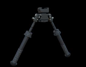 Bipod 3D asset