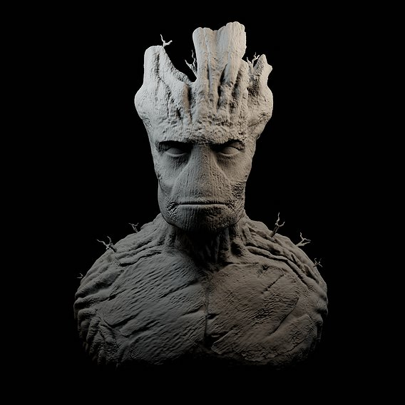 """I AM GROOT"" attempt #2"