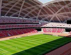 3D model National Stadium Singapore
