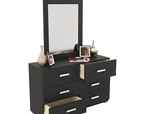 Dressing Table 3D changing