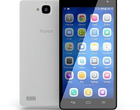 Huawei-Honor-3C 3D model