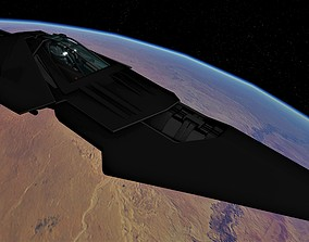 WIPE OUT - SYSTEMS F SPACE FIGHTER 3D model