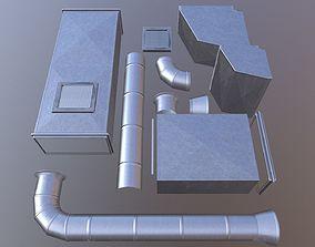 tube construction 3D model
