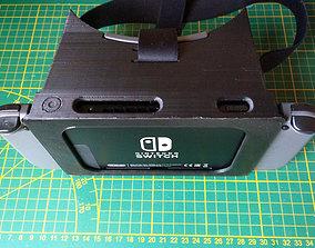 3D printable model VR Headset STL files for Nintendo labo