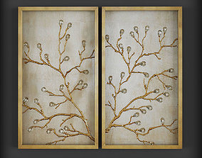 Picture Frames 3D asset realtime architectural abstract