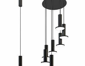 3D Pablo cielo 7 pendant chandelier