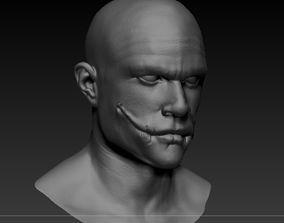 The Joker - Heath Ledger - The Dark 3D printable model 1