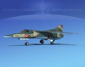 Mig-27 Flogger LP Egypt 3D asset