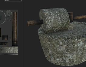 3D model Medieval Olive Press