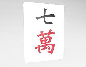 Mahjong v1 007 3D model