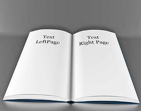Book Open 3D
