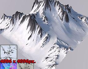 3D Mountain cliff exterior