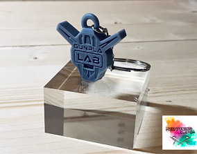 3D printable model Portachiavi Gunpla Lab Italy