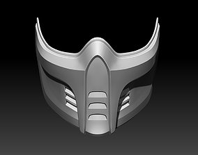 3D printable model Sub Zero mask for cosplay 3