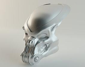 Celtic Predator Mask 3d Print model miniatures