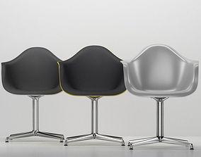Vitra Eames plastic armchair DAL 3D