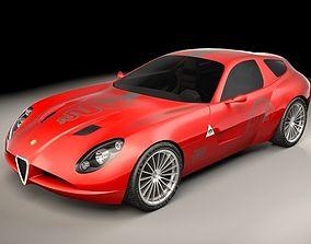 Zagato Alfa Romeo TZ3 Corsa 3D model