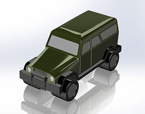 3D printable model UAZ-3153