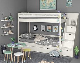 3D model Kids Bedroom Set