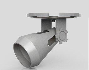 Simple Steampunk Lamp 3D print model