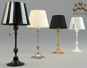 Generic Table Lamp 3D model