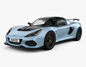 3D Lotus Exige Sport 410 2018