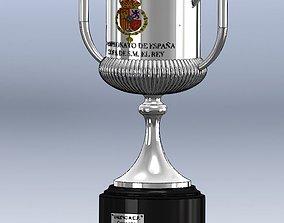 Campeonato Futbol Copa Rey 2019 3D printable model