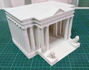 Saint Seiya Leo Temple - Templo Leo 3D print model