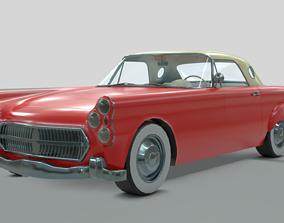 3D model 1950s generic car