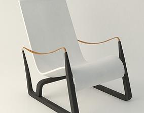 jean prouve chair 3D model