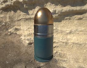 40mm grenade M3XX 3D model